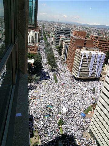 FARC_protest